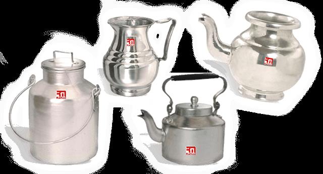 Aluminium cookware in Dubai,UAE and Africa | Rathod metals